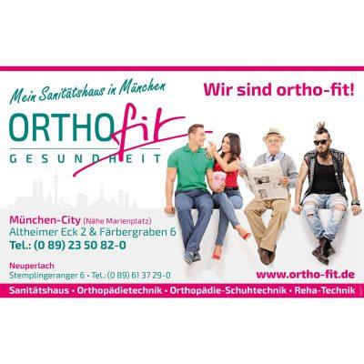 Werbung und Außenwerbung für Münchner Ärzte