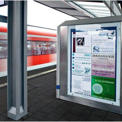Außenwerbung in München Pasing