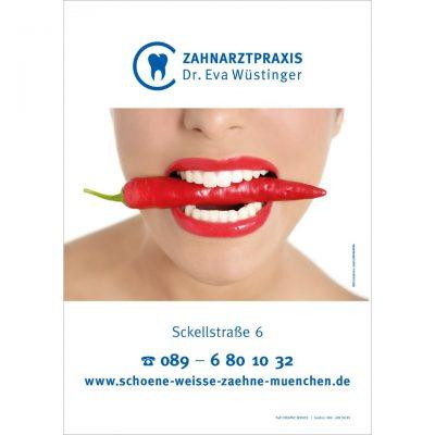Praxisplakat Werbung München