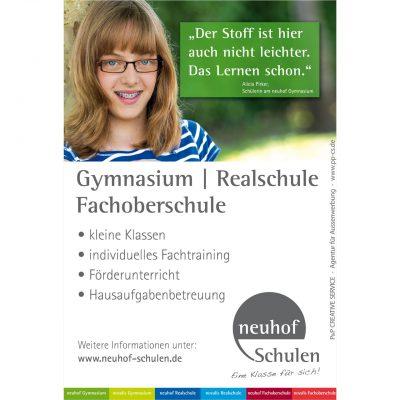 Stirnflächen Werbung in München