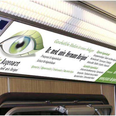 Werbung in U-Bahn München
