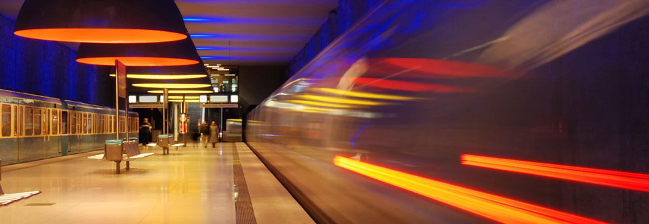 U-Bahn und S-Bahn Werbung
