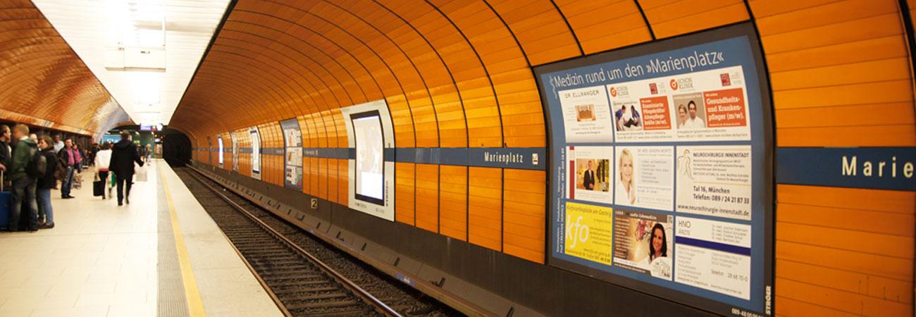 Werbung in München